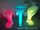 Bar Square High Wireless LED Cocktail Table