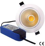 15W COB LED Dimmable Light Down LED Ceiling Light LED Panel