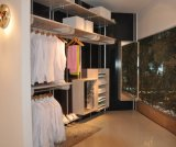 Customized Modern Wood Door Designs Bedroom Furniture Walk in Wardrobe