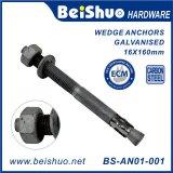 Construction Galvanized Wedge Anchor Bolt