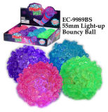 55mm Light up Bouncy Ball Toy