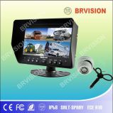 Bus Surveillance System/7inch Quad Split Car Monitor/Dome Camera