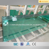 Solid Structure and Float Glass Type 6mm Tempered Glass