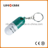 Medical Promotion Gift Capsule Shaped Pill Box Mini Pill Box Keychain