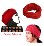 OEM Produce One Color Dyed Red Polyester Multifunctional Magic Buff Headband