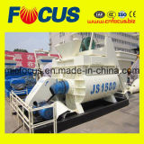 Canton Fair Hot Sale Js1500 Horizontal Twin-Shaft Concrete Mixer