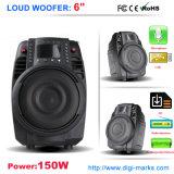Hi-Fi Woofer Recharged Professional Audio Amplifier Trolley Speaker