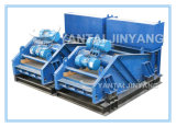 Rubber Spring Rotary Vane Shaker Vibrating Screen for Mining