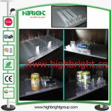 Durable Supermarket Acrylic Plastic Shelf Cigarette Pusher