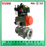 Stainless Steel Sanitary Explosion-Proof Pneumatic Actuator Ball Valves