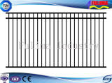 Black Color Steel Picket Fence Panel (SF-023)