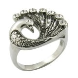 New Model Top Deisgn Peacock Shape Ring