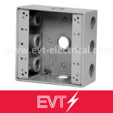 9 Holes Weatherproof Box Threaded Electrical Box