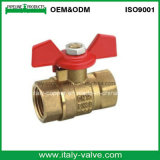 Brass Forged Ball Valve in Butterfly Handle (AV1052)