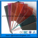Color Laminated Glass for Decoration