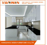 2017 Aisen Modern Wholesale Modular Small Lacquer Kitchen Cabinets
