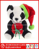 Plush Toy of Soft Panda for Christmas