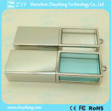 New Design Metal Frame Crystal USB Drive (ZYF1518)