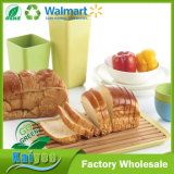 Going Green and Environmental Protection Bamboo Fiber Bread Board with Base
