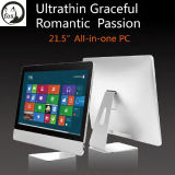"""21.5"""" LED Touchscreen All-in-One PC with I5-3210m CPU, 4GB Memory, 120GB SSD, WiFi/Bluetooth, Webcam, Capacitive Multitouch"""