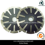 5′′ 125mm Diamond Curved Cutting Blades for Sinkholes