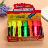 6 Colors Soft Grip High Quality Highlighter Pen