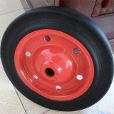 Wheel Barrow Spare Parts Rubber Powder Wheel (13*3 inches)