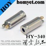 3.5mm 2pin DIP Phone Jack with Metal Material (Hy-340)