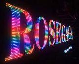 China Factory New Metal Frontlit LED Exposed Luminous LED Letterring