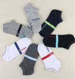 Supply Wholesale Cotton Low Cut Week Logo Socks