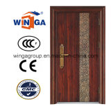 Villa Buidling Good Quality Outside Security Iron Steel Door (W-S-15)