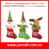 Christmas Decoration (ZY14Y501-1-2-3) Christmas Decorated Socks