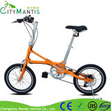 Steel Frame 7 Speed Portable Folding Bike Pocket Bicycle