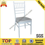 Banquet Stackable Aluminum Chiavari Chair with Removable Cushion