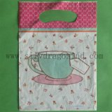 Custom Beautiful LDPE Carrier Plastic Bags