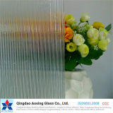 Flutelite-S Tempered/Float Pattern Glass for Table/Window Glass