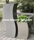 Fo-9008 Decorative S-Type Stainless Steel Flower Pot