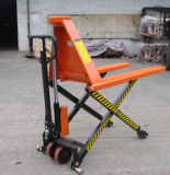 1000kg High Lift Hydraulic Hand Pallet Truck with Double Scissor