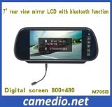 7inch Rear View Auto Mirror Monitor with Bluetooth
