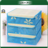 Non Woven Foldable Colorful Reusable Storage Boxes with Cover