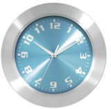 Home Decoration Analog Aluminium Wall Clock in 10 Inch