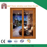 15077luxury Wooden Aluminium Sliding Door