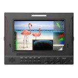 Sdi Input and Output 7 Inch CCTV Security Monitor, IPS Panel