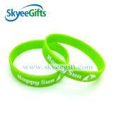 Colorful Silicone Wristband Bracelet with Custom Logo