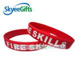 Custom Cheap Debossed Fashion Silicone Bracelets
