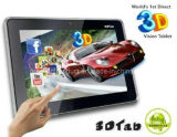 Newest Naked-Eye 3D Android Tablet with 3G Calling
