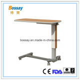 Medical Furniture Hydraulic Mobile Dining Table
