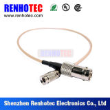 Coaxial Cable Rg179 with BNC Female Connector and 1.0/2.3 DIN Male Connector