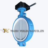 Gear Operated Cast Iron Wafer Butterfly Valve
