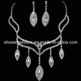 Bridal Jewelry Sets/Shiny Crystal Fashion Jewelry Sets/ Necklace and Earrings Sets (XJW12216)
